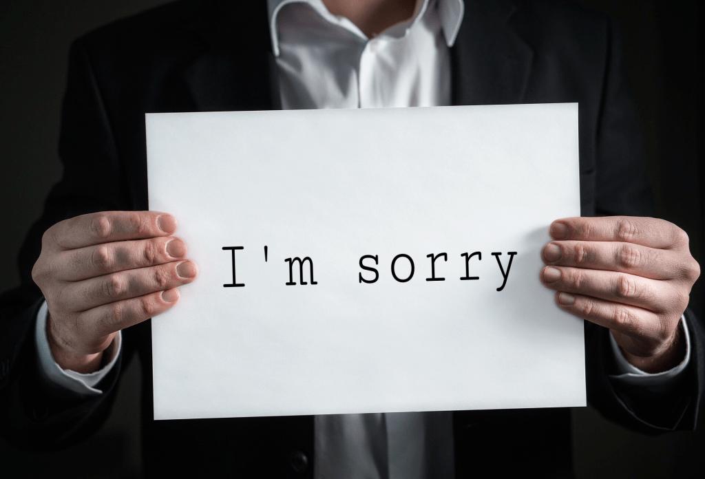 Apologies to the World